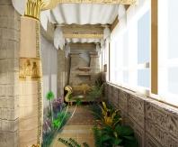 Египетский стиль оформления
