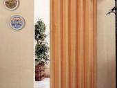 двери гармошка в спальне