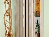дверь гармошка в интерьере дома