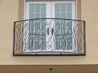 Вариант классического французского балкона