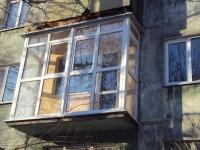 Французское остекление традиционного балкона