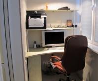 Балкон офис для небольшого пространства