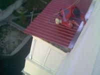 Кровля балкона своими руками