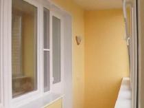 Обшивка стен и потолка лоджии гипсокартоном