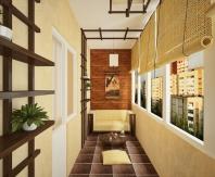 Оформление балкона в китайском стиле