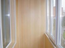 Панели МДФ для отделки балкона