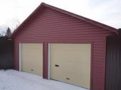 чем отделать гараж снаружи