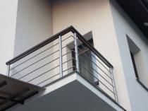 Перила балкона из нержавеющей стали