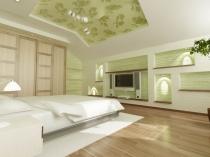 Двухуровневый мансардный потолок