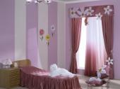 шторы в детскую комнату девочки