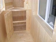 как отделать балкон деревянной вагонкой
