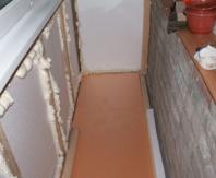 Пеноплекс и пенопласт прекрасно утеплят балкон или лоджию